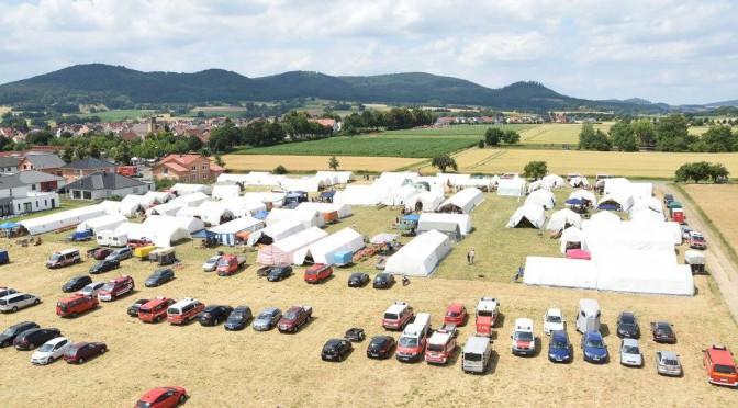 Kreiszeltlager in Edermünde-Besse