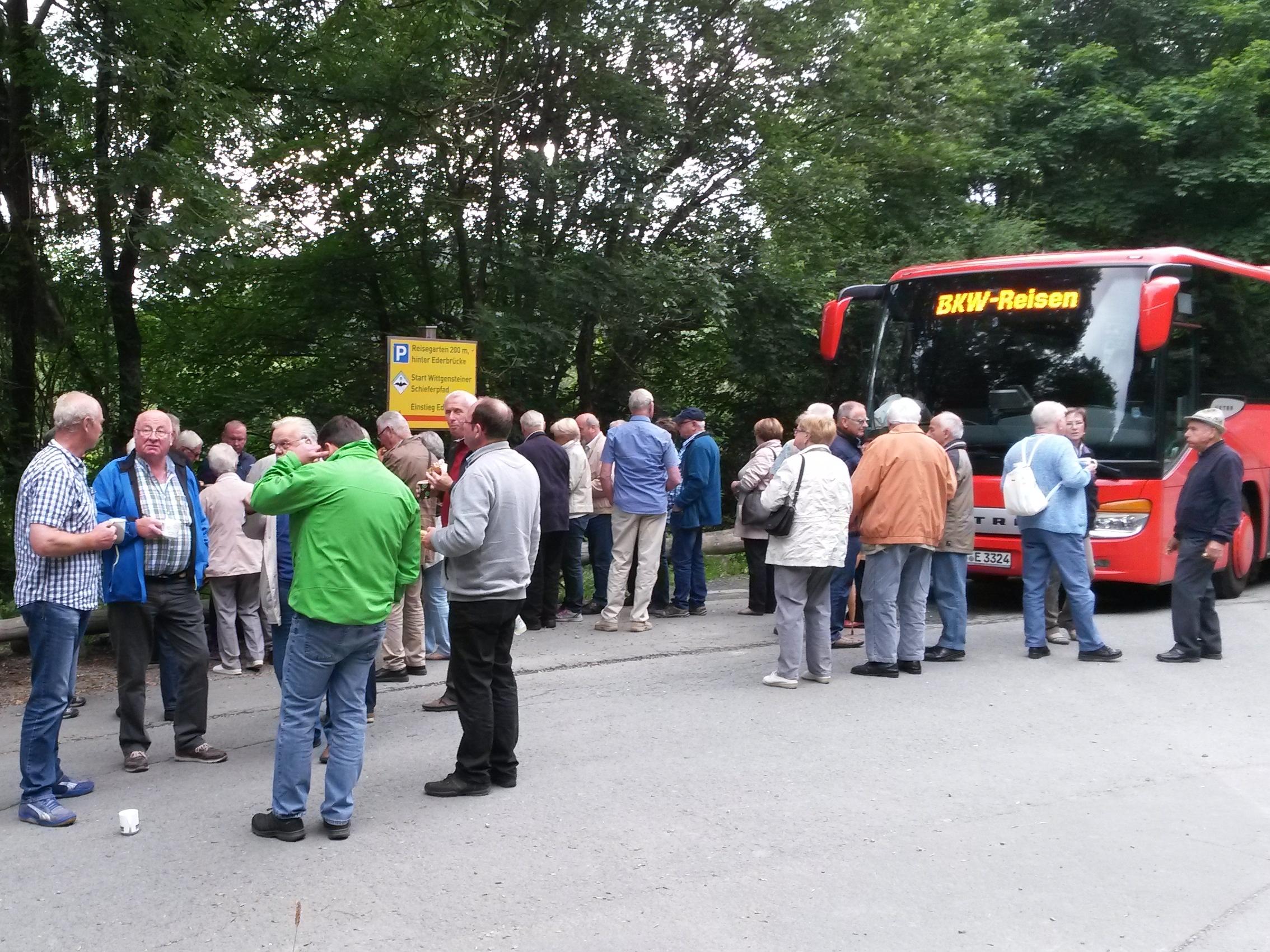 Feuerwehrsenioren im Hochsauerland