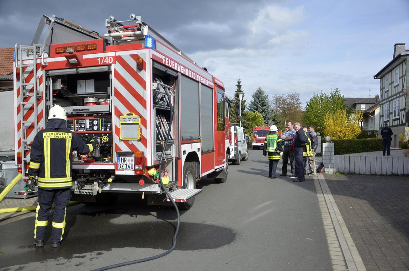F 2 – Brand in Schreinerei