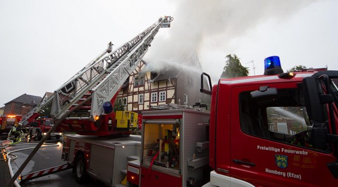 F 4 – Wohnhausbrand