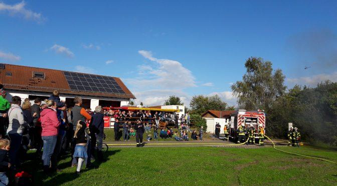 Feuerwehrerlebnistag lockte zahlreiche Besucher