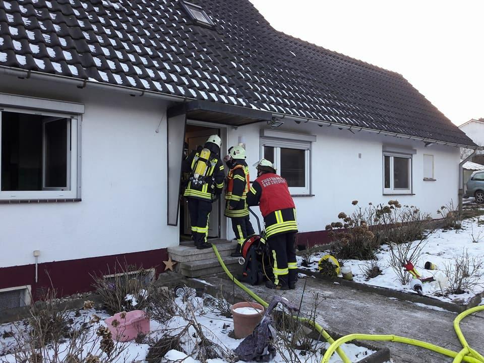 F 2 – Zimmerbrand