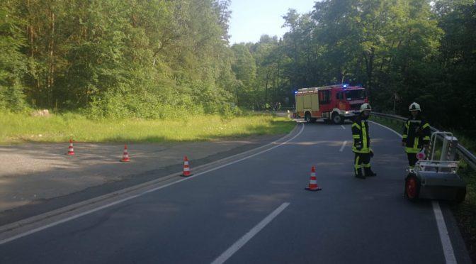 H1 – Aufnehmen von Betriebsstoffen nach Verkehrsunfall