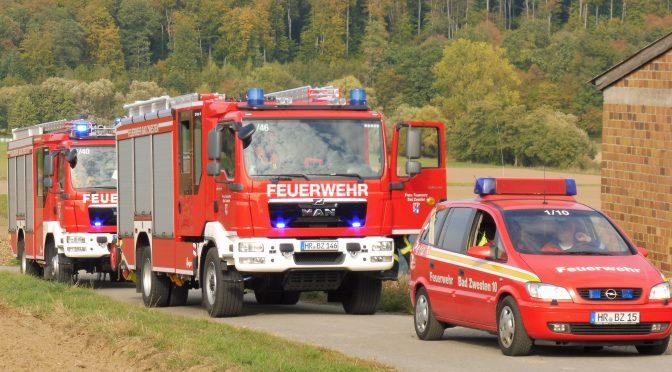 Einsatzübung der Gemeindejugendfeuerwehr in Niederurff