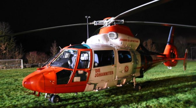 H1 – ausleuchten eines Hubschrauberlandeplatzes