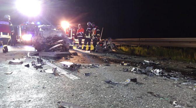 H-Klemm 1 Y – Verkehrsunfall mit eingeklemmter Person