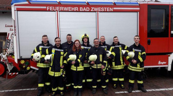 """Bad Zwestener Feuerwehr bei der """"Sternübung"""" in Knüllwald"""