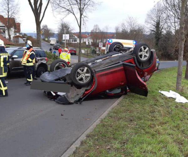H 1 – Verkehrsunfall