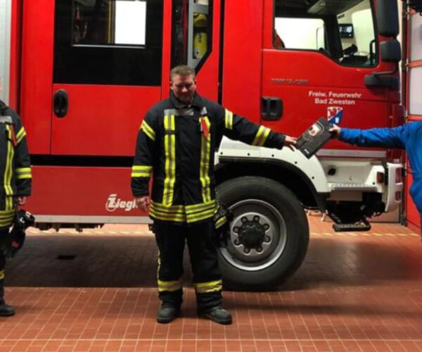 Wärmebildkamera für die Feuerwehr Bad Zwesten