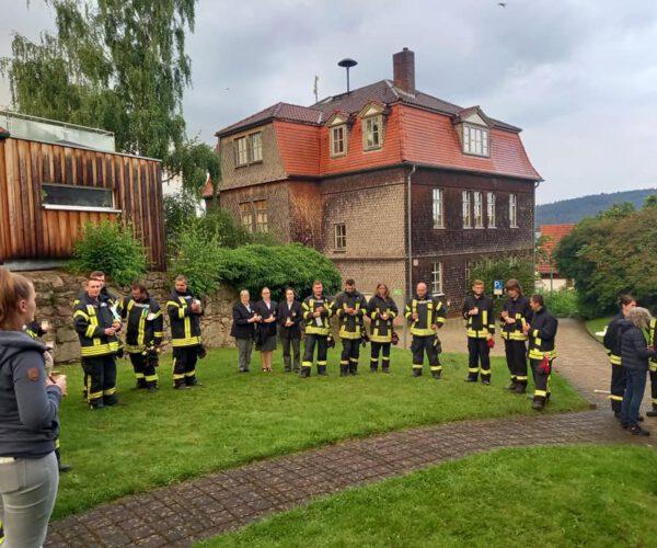 Gedenkandacht für die Opfer der Flutkatastrophe in Nordrhein-Westfalen und Rheinland-Pfalz